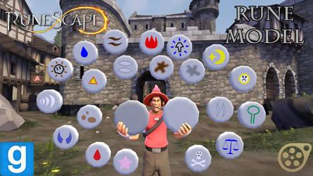 RuneScape Rune SFM/GMOD Model Download by GameAct3