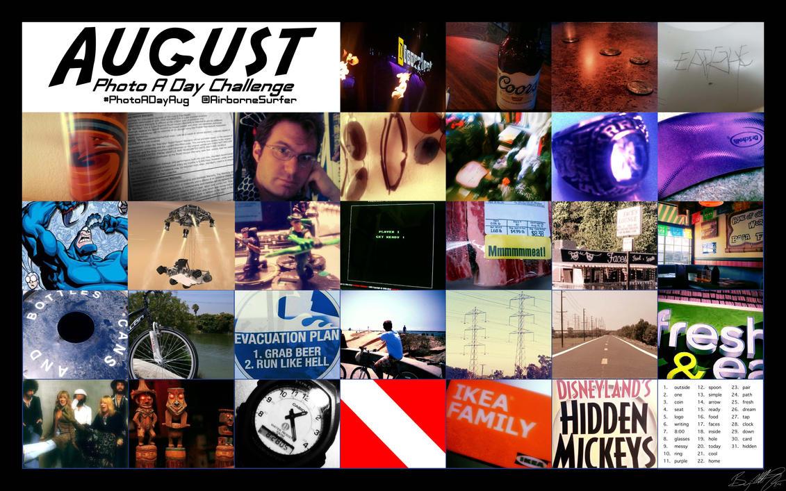 August Photo A Day Challenge (2012) by twmfrntman