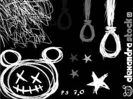 Psychotic Drawings by alexandra-stock