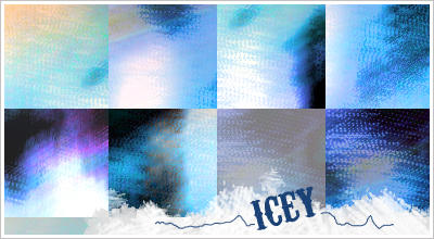 'Icey' Textures by WashWhenDirty