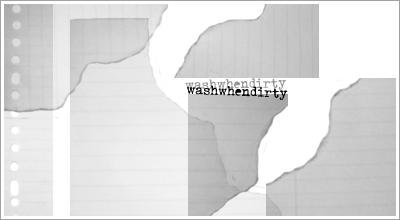 'Torned' Brushes 2 by WashWhenDirty