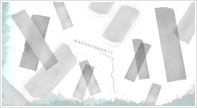 'Taped' Brushes by WashWhenDirty
