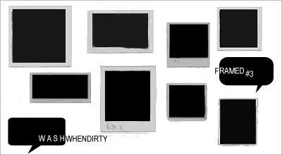 'Framed' Brushes 3 by WashWhenDirty