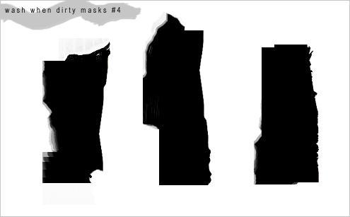 'Mask' Brushes 4 by WashWhenDirty