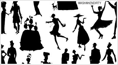 'Little People' Brushes by WashWhenDirty