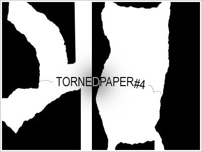 'Torned Paper' Shapes 4 by WashWhenDirty