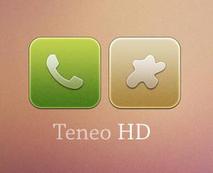 Teneo HD WIP Iphone Theme by ChikenArt