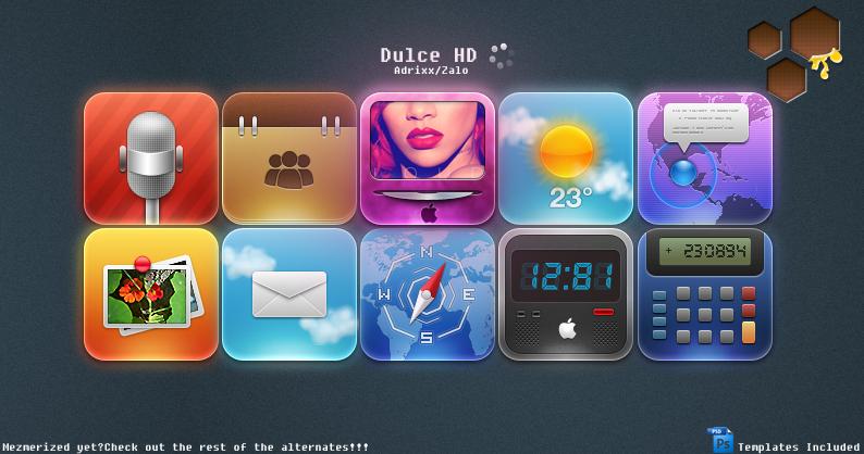 'Theme' Dulce HD Released 2.0 by ChikenArt