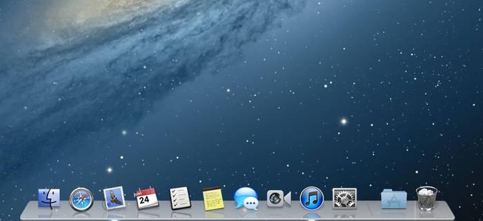 RK Launcher - Mac OS X Mountain Lion theme by Carat-54