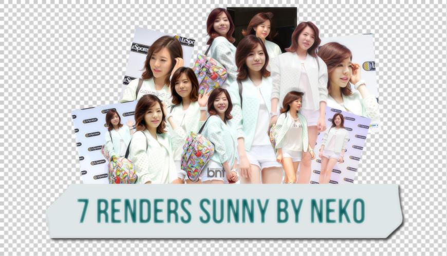 140703 - Render Sunny by NekoNguyen