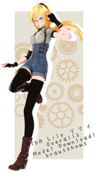 [DL] TDA Lily Overalls! by BrausShows