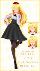 [DL] TDA Lily High Society! by BrausShows