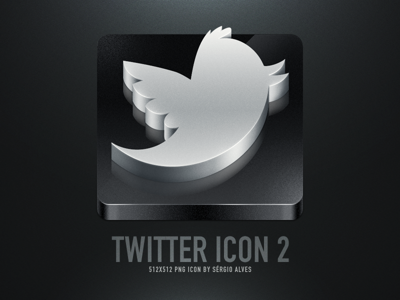 Twitter Icon 2 by sergiomota