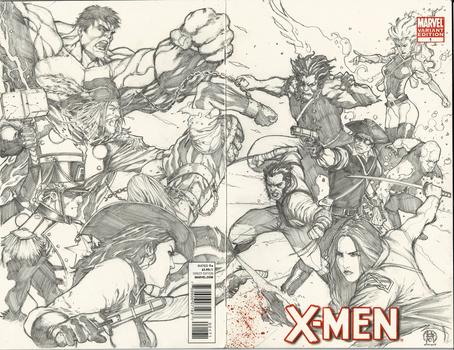Frank Keener's Revolutionary X-men