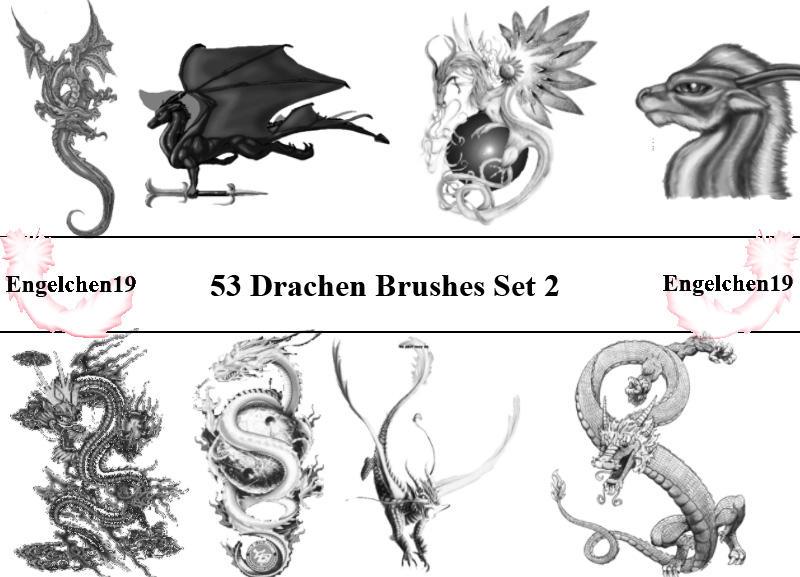 53 Dragons Drachen PS 7 by Engelchen19