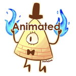 Animated Bill Cipher