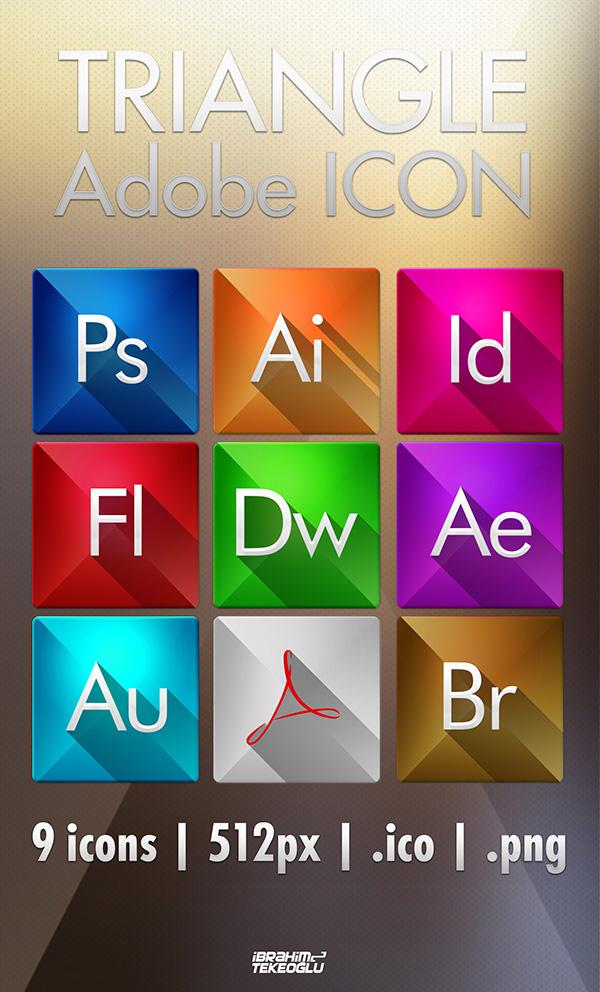 Adobe Triangle Icon by TheTRJn