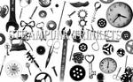 Photoshop Brush Steampunk Trinkets