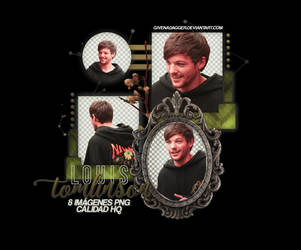 LOUIS TOMLINSON   PACK PNG #2 by givenadagger