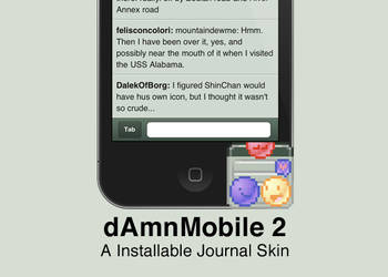 dAmnMobile 2 Skin by Pickley