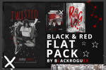 BLACK AND RED | GRAPHIC FLAT PACK