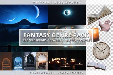 FANTASY GENRE PACK by BlackRogueX