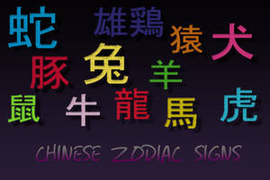 chinese zodiac brushes for PS by hotaru-tenten