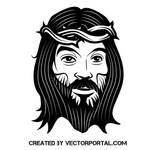Jesus Christ vector image by Vectorportal