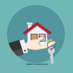 Buy home vector concept