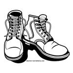 Boots vector image by Vectorportal