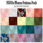 1920s Waves Pattern Pack