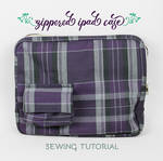 Sewing Tutorial: The Zippered iPad Case