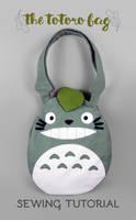 Sewing Tutorial: The Totoro Bag