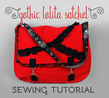 Sewing Tutorial: The Gothic Lolita Satchel