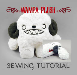 Sewing Tutorial - The Wampa Plush by SewDesuNe