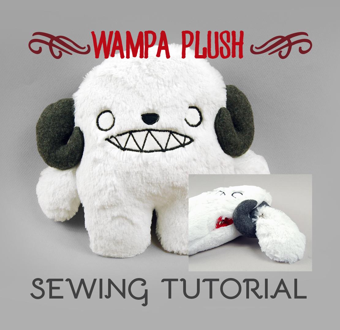 Sewing Tutorial - The Wampa Plush by SewDesuNe