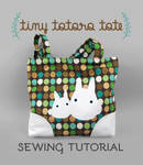 Sewing Tutorial: The Tiny Totoro Tote