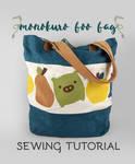 Sewing Tutorial - The Monokuro Boo Bag