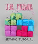 Sewing Tutorial: Tetris Pincushions