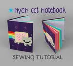 Sewing Tutorial: Nyan Cat Notebook