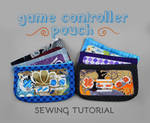Sewing Tutorial - Game Controller Pouch