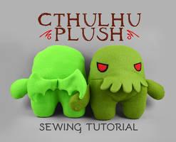Sewing Tutorial - Cthulhu Plush