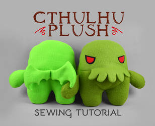 Sewing Tutorial - Cthulhu Plush by SewDesuNe