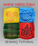 Sewing Tutorial - Avatar Nation Trays