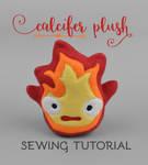 Sewing Tutorial - Calcifer Plush