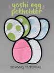 Sewing Tutorial - Yoshi Egg Potholder