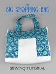 Sewing Tutorial - Big Shopping Bag
