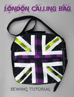 Sewing Tutorial - London Calling Bag by SewDesuNe