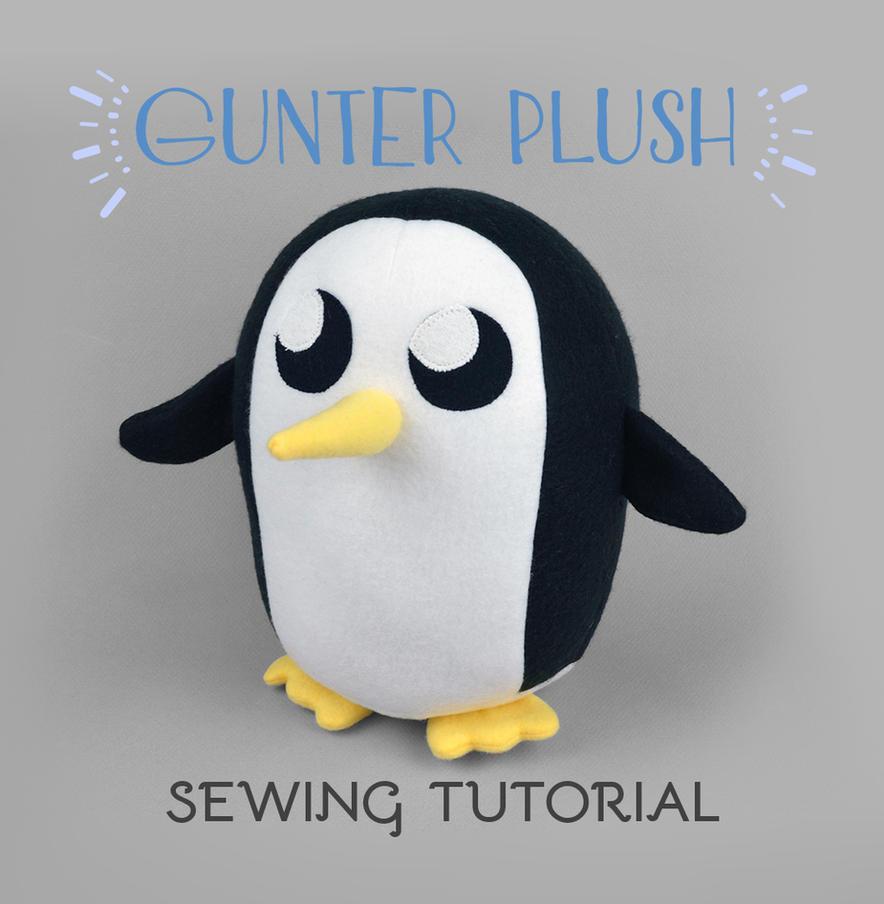 Sewing Tutorial - Gunter Plush by SewDesuNe