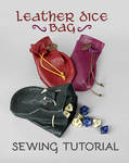 Leather Dice Bag Sewing Pattern